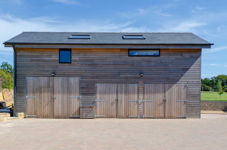 Timber Frame Office